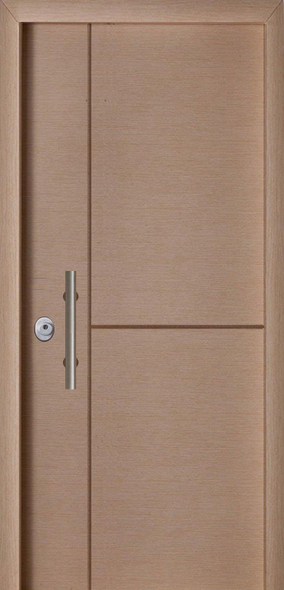 Πόρτες Ασφαλείας - Laminate - Δρύς σκαφτό Τ