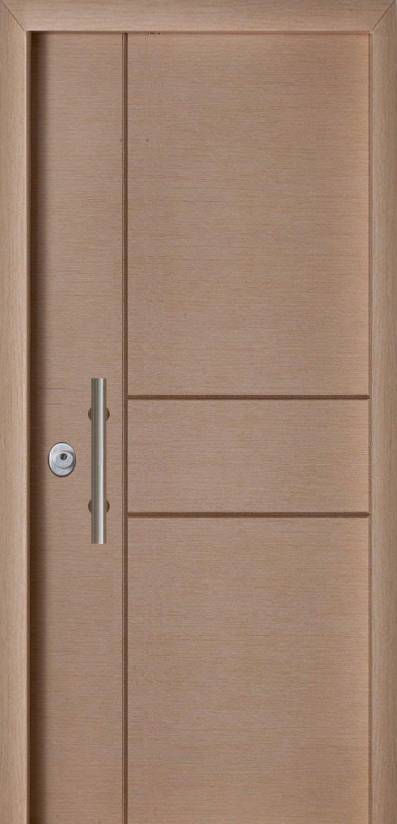 Πόρτες Ασφαλείας - Laminate - Δρύς σκαφτό Π