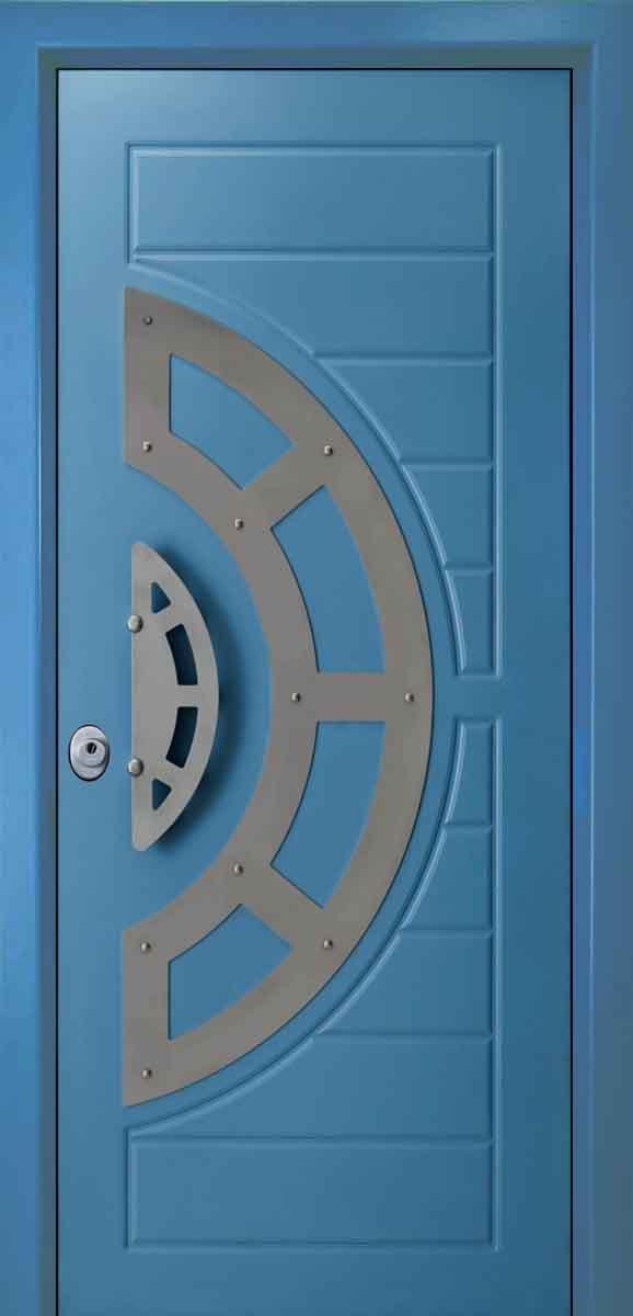 Πόρτες Ασφαλείας με ξύλο