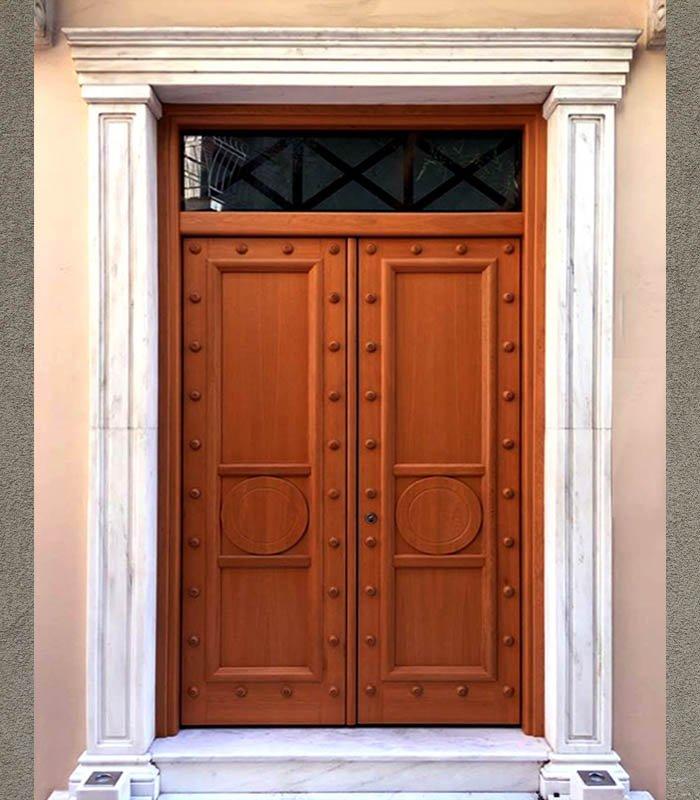 πόρτα ασφαλείας δίφυλλη
