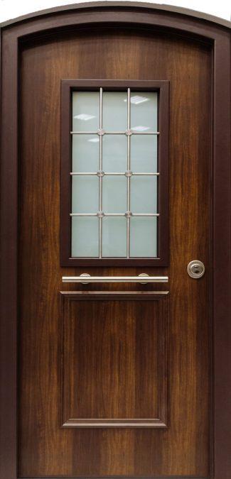 Πόρτες Ασφαλείας με Τζάμι