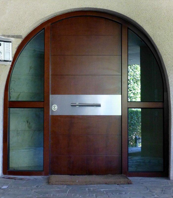 Τοξωτές πόρτες ασφαλείας
