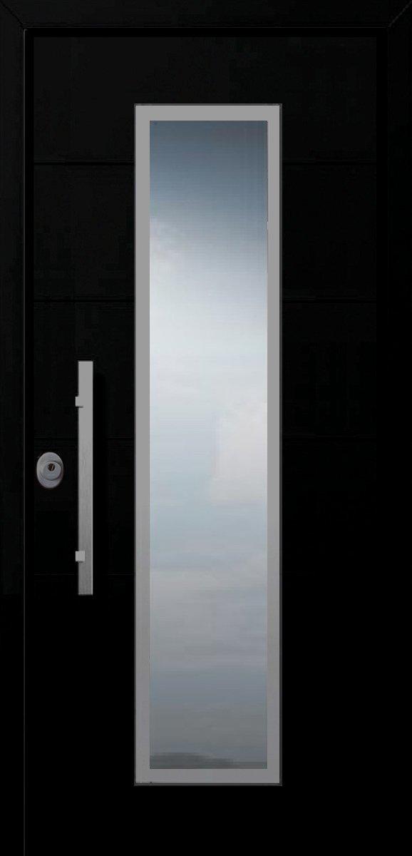 αλεξισφερες πορτες ασφαλειας με τζαμι