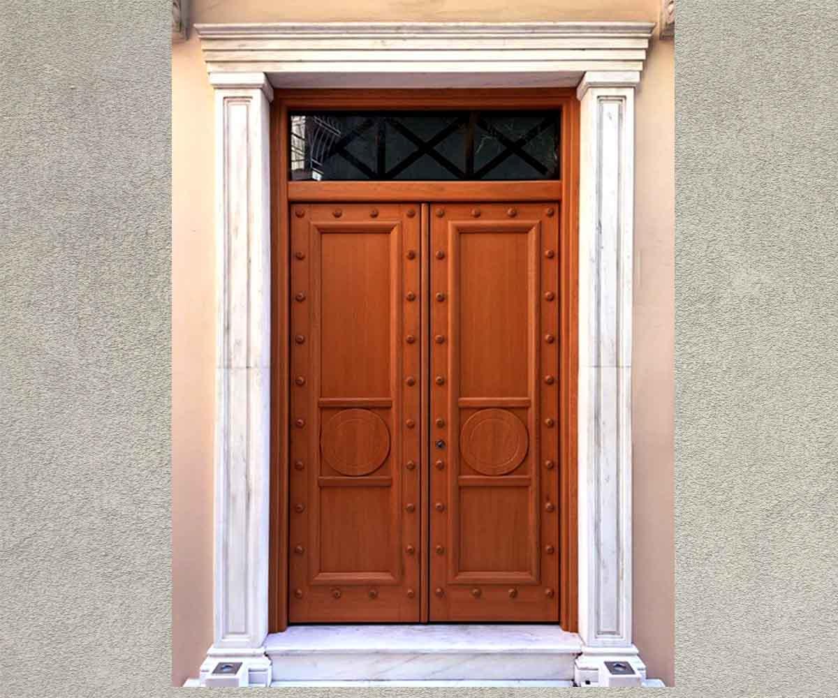 Δίφυλλη θωρακισμένη πόρτα ασφαλείας | siamo