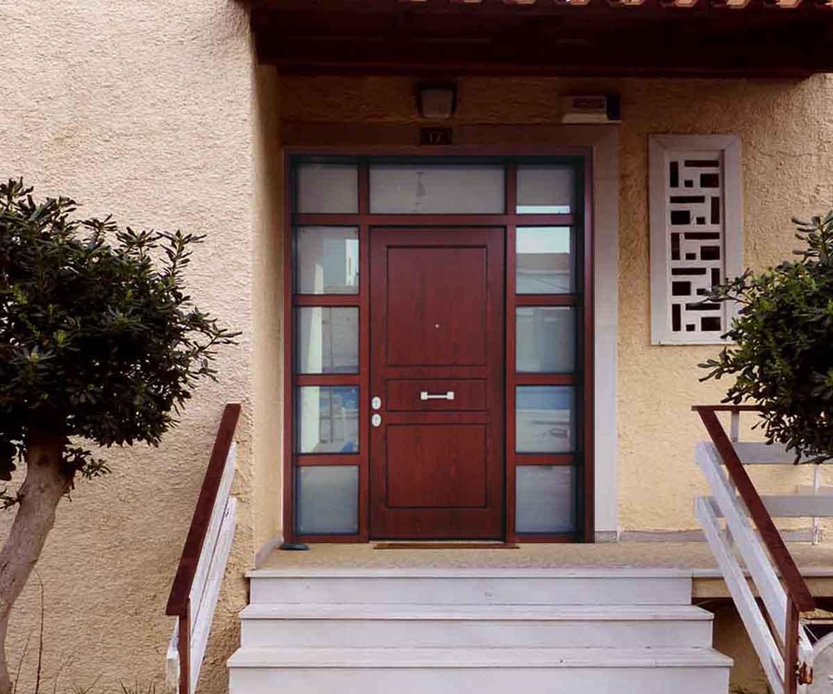 θωρακισμένη πορτα κεντρικη είσοδος | siamo.gr