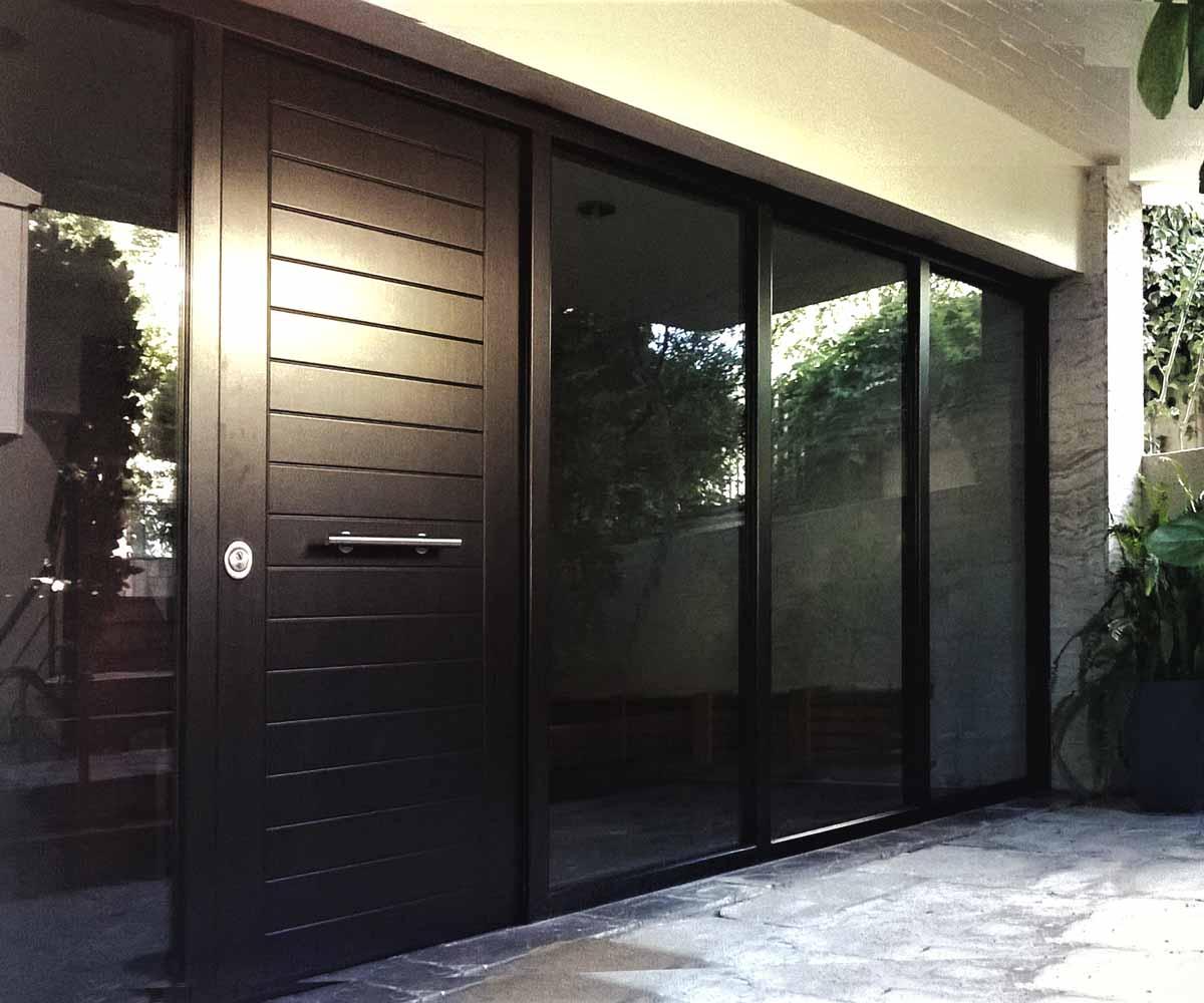 Θωρακισμένη πόρτα με αλεξίσφαιρα τζάμια | siamo