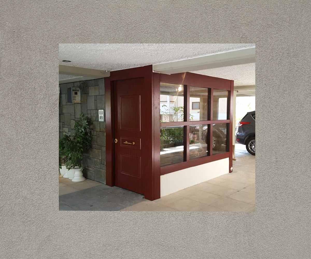 θωρακισμένη πόρτα εισόδου πολυκατοικίας | siamo.gr