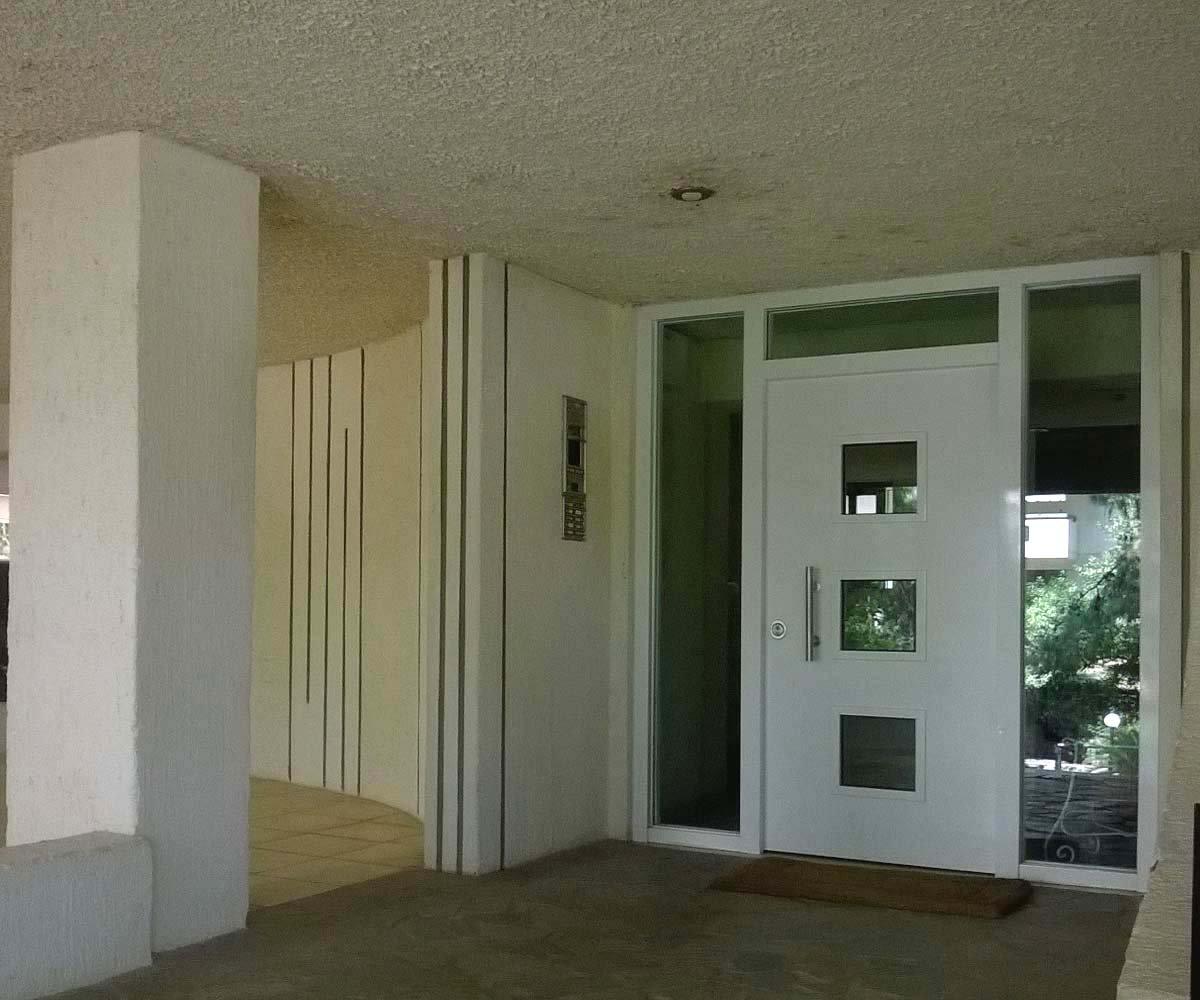 θωρακισμένη πόρτα τζάμια ασφαλείας σταθερα | siamo