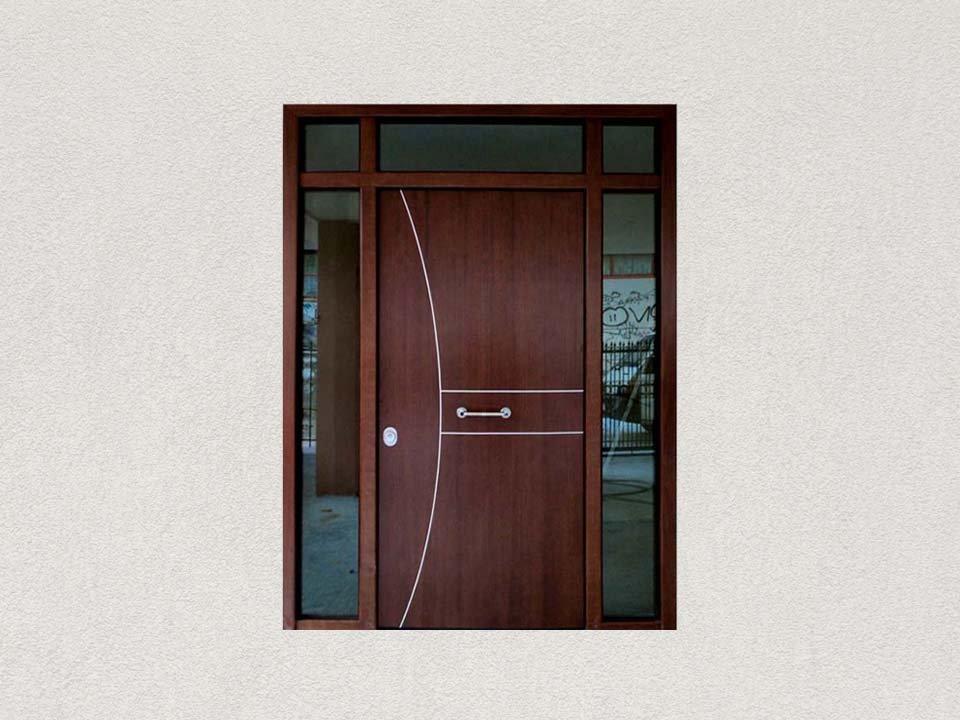κεντρική είσοδος θωρακισμένη πόρτα πολοικατοικίας | siamo
