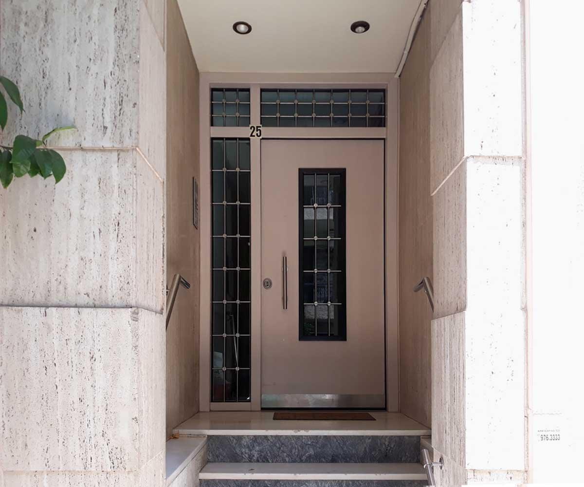 κλειδαριά αυτόματου κλειδώματος πορτα ασφαλείας | siamo